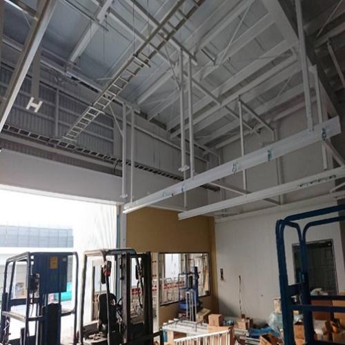 2018年 自動車工場新築電気工事