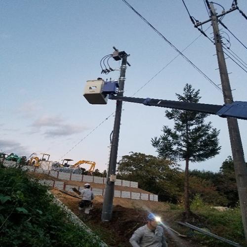 2018年 群馬県富岡市 受変電気工事