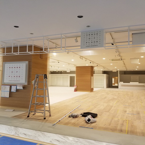 2018年 群馬県高崎市 店舗新築電気工事